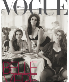 Vogue Italia Curvy issue