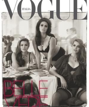 Vogue Italia Curvy issue