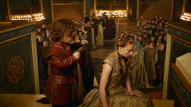got sansa's wedding