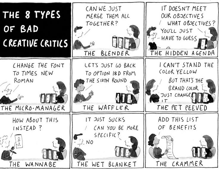 critics...