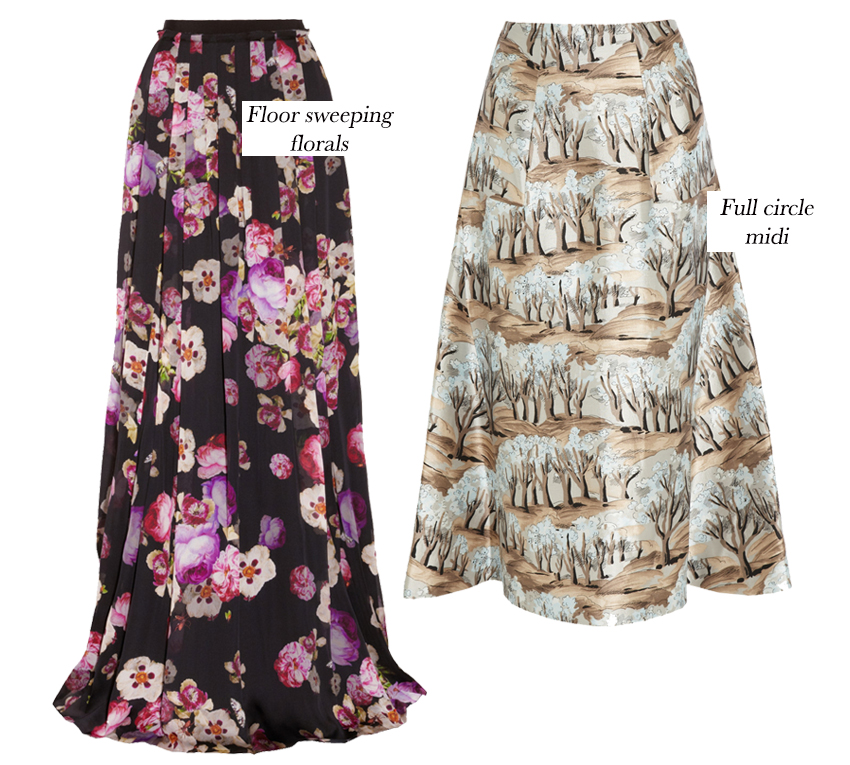 The Middle men skirts