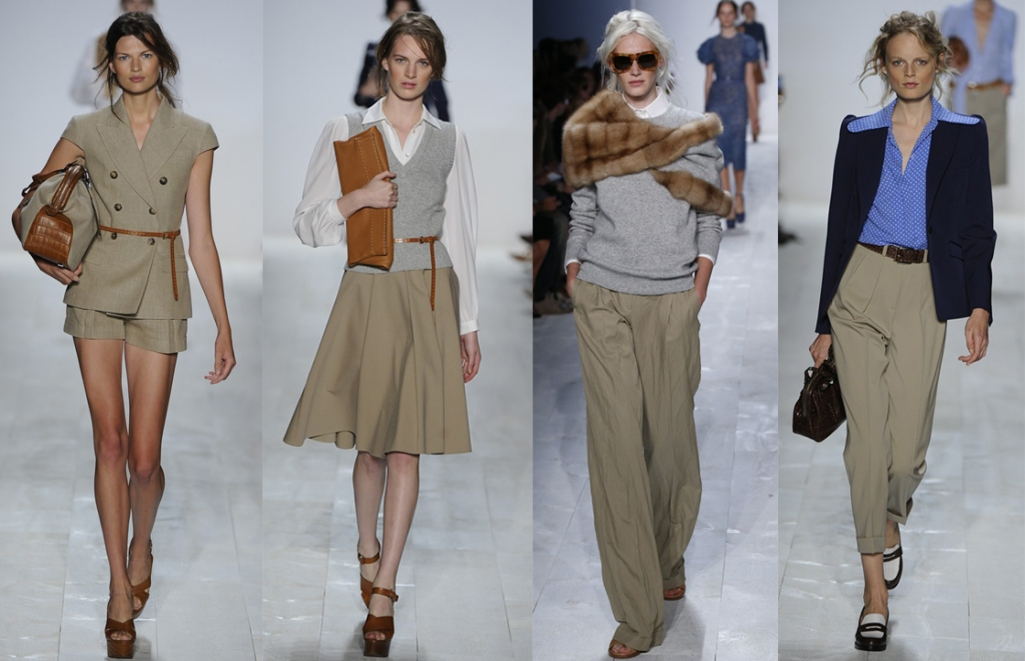 NYFW BEST IN SHOW KORS KHAKI