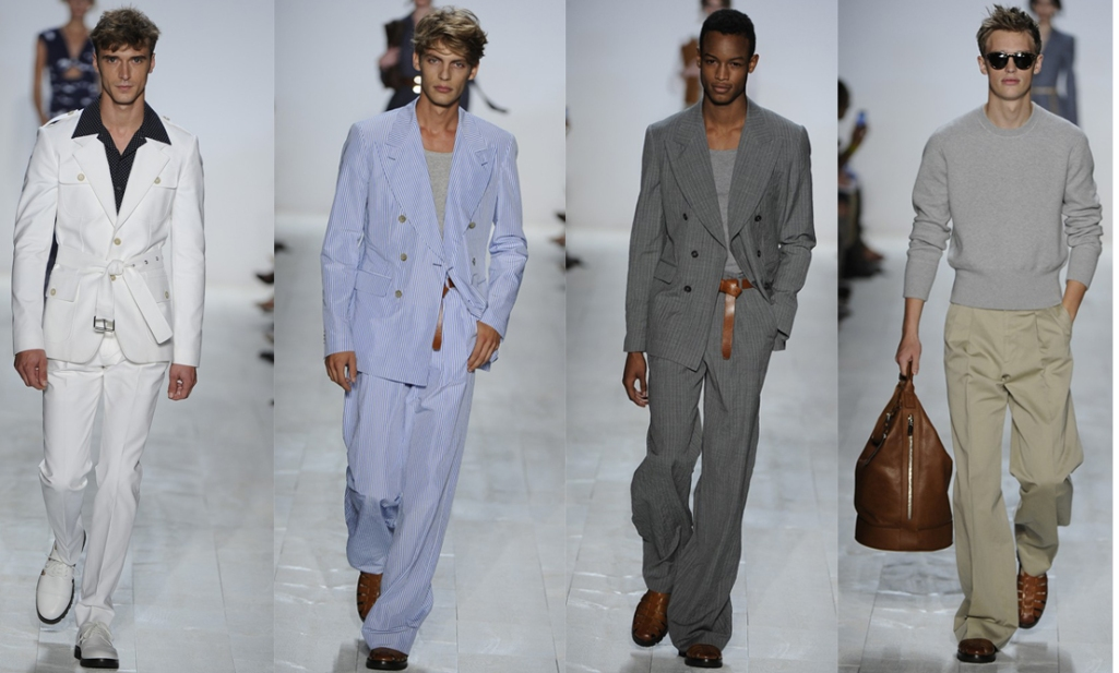 NYFW BEST IN SHOW KORS MAN