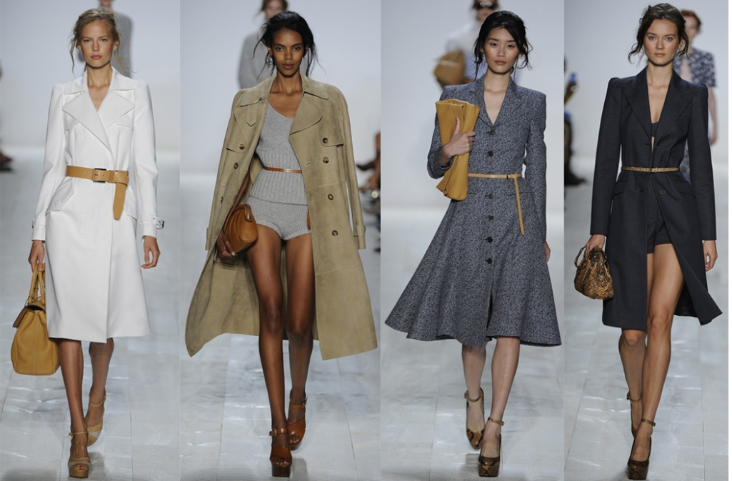 NYFW BEST IN SHOW KORS OUTERWEAR