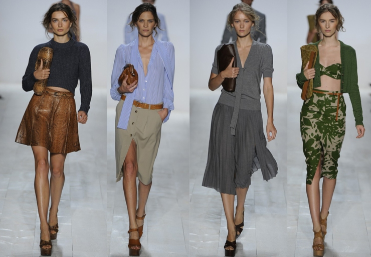 NYFW BEST IN SHOW KORS SKIRTS
