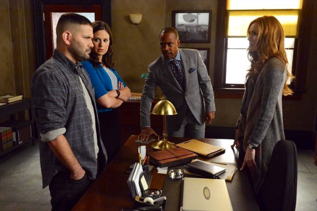 GUILLERMO DIAZ, KATIE LOWES, COLUMBUS SHORT, DARBY STANCHFIELD