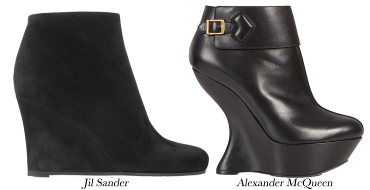 Winter boot; the wedge