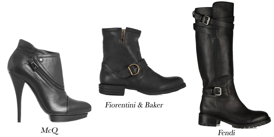 Winter Boots; Biker