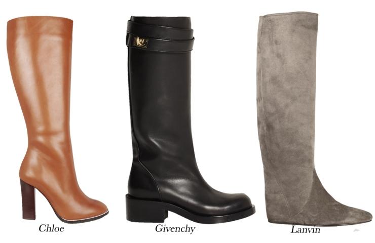 Winter boots; Knee