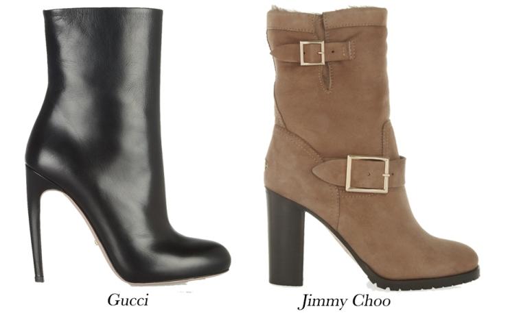 Winter Boots; Mid Calf