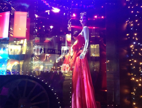 Harrods Holiday Window- Mystery Ex