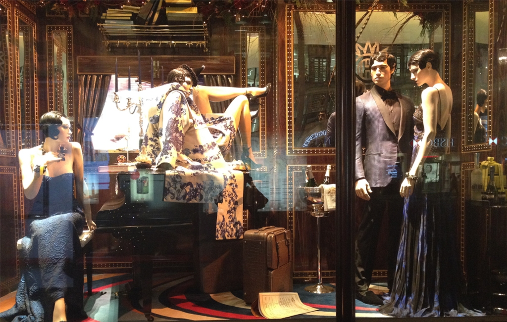 Harrods Holiday Window- The Confrontation