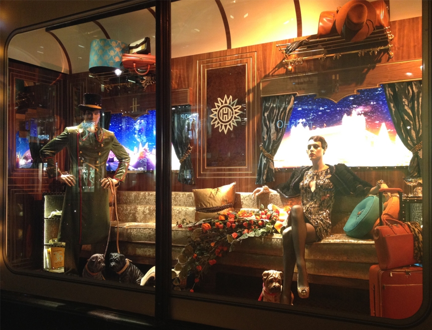 Harrods Holiday Window- The Mrs