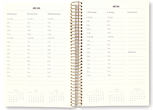 kate spade diary day