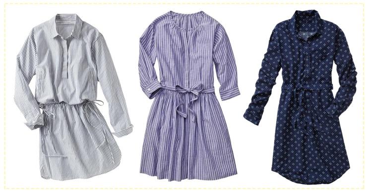 Spring Picks Gap Shirt Dress