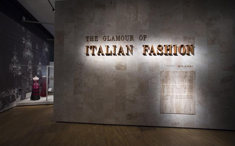 v & a italian fashion