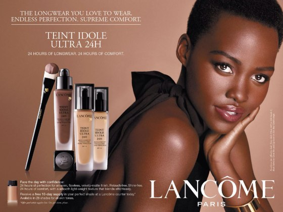 Lupita for Lancome Paris