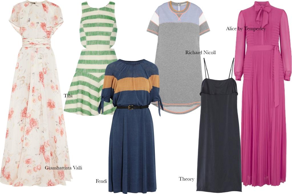 The Summer Wardrobe- Dresses