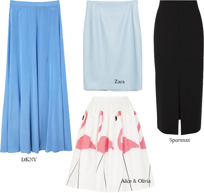 The Summer Wardrobe- Skirts