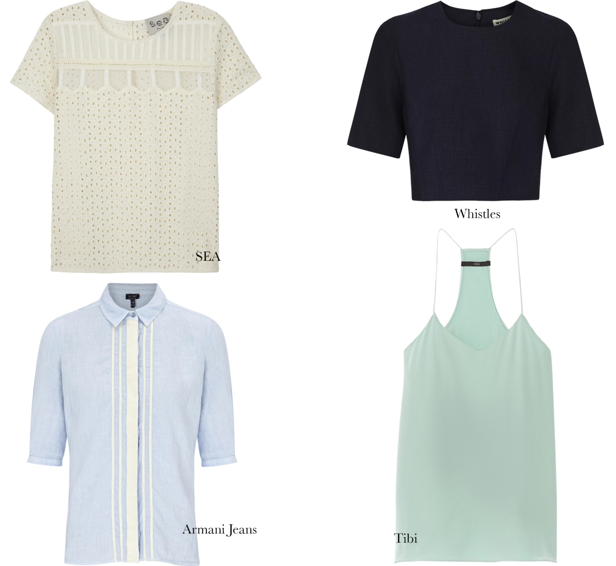 The Summer Wardrobe- Tops