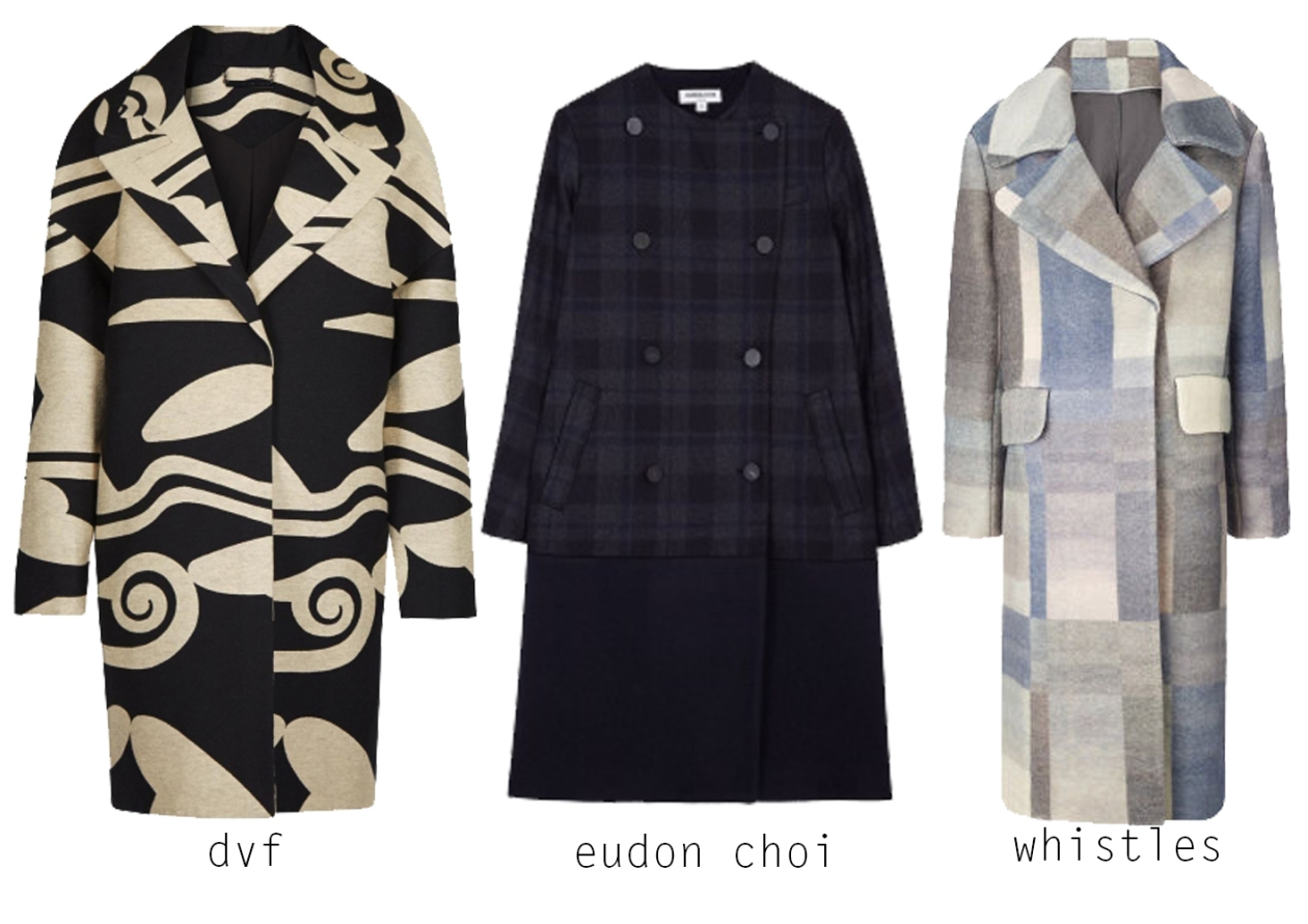 Coats- Prints and Patters