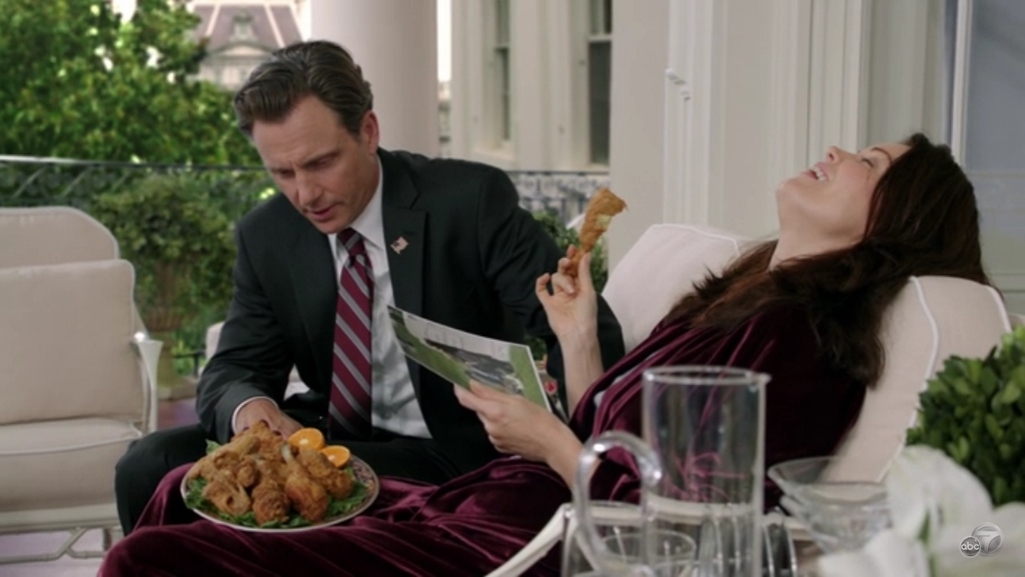 scandal s4 ep 2 mellie chicken