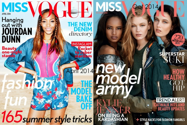 Miss Vogue Dunn and Malika