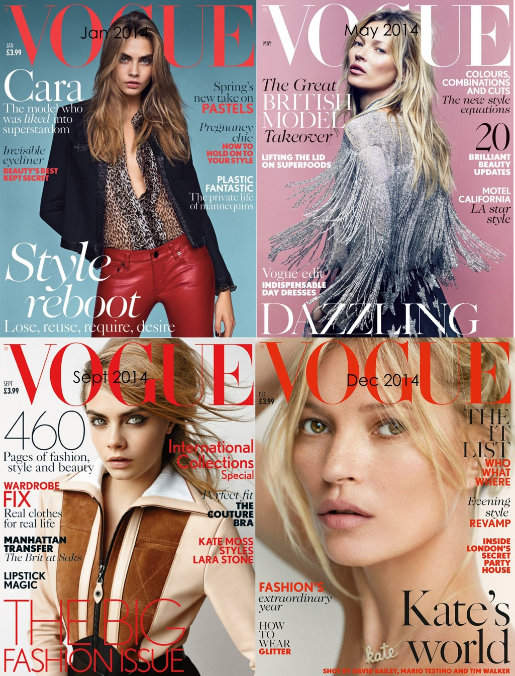 Vogue Cara and Kate