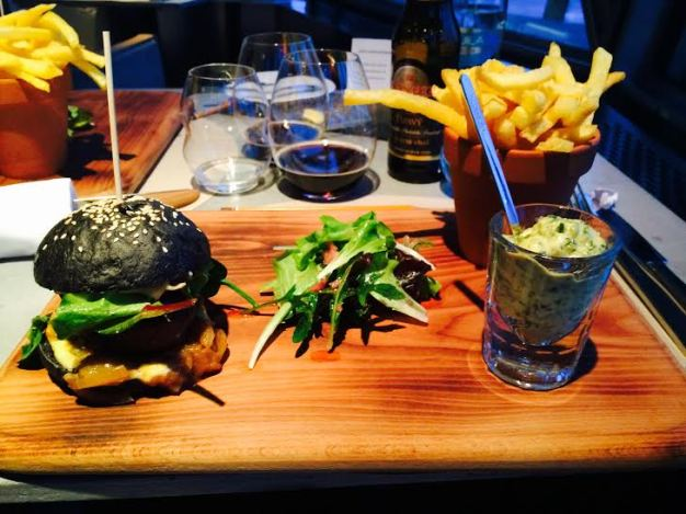 fred and ginger black burger