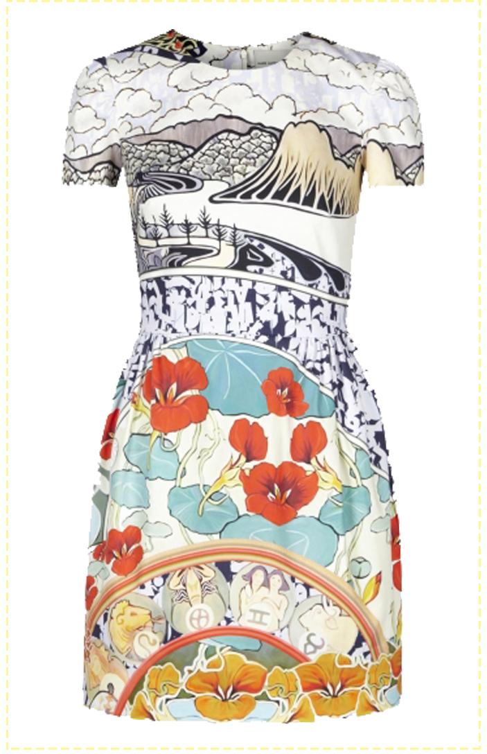 dress of summer katranzou