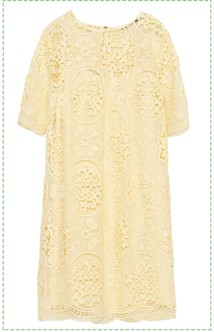 dress of summer zara