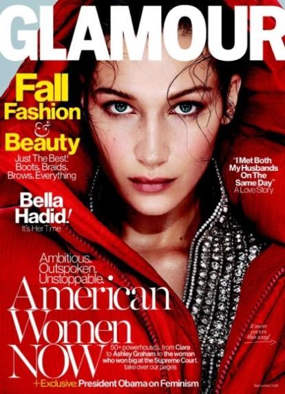 Glamour Bella Hadid