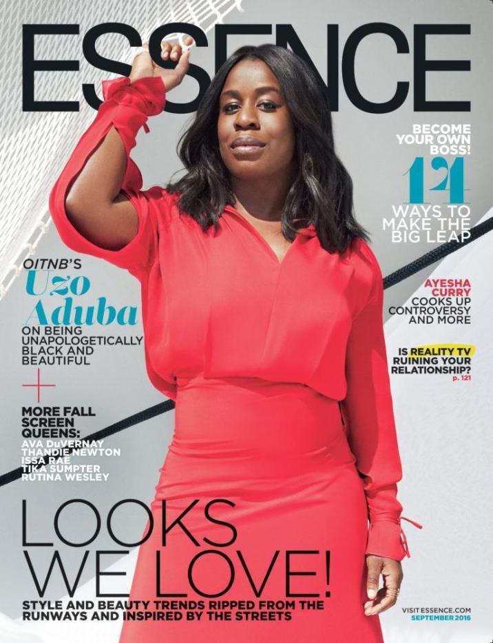 September Issues- Essence Uzo Aduba