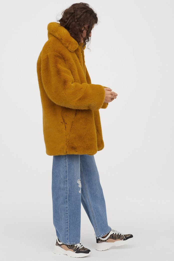 HM Coat Mustard